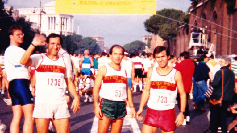 Martire Castelluccio Gravino Maratona Romacapitale 1988