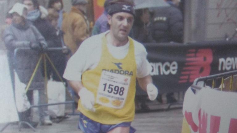 Pietro Francolino Maratona Reggio Emilia 2002