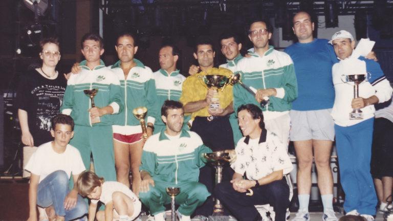 I Giro Podistico Tursitano 1989